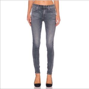 Agolde Sophie High Rise Skinny In Rockport